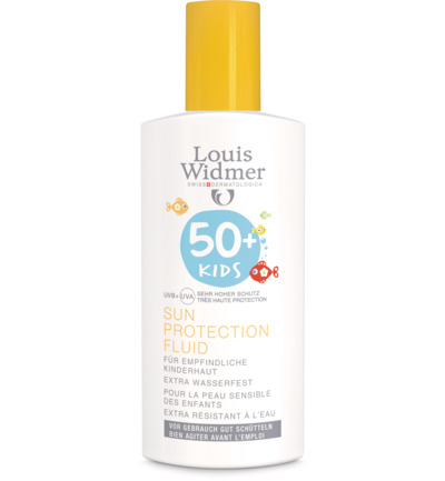 Kids Sun Protection Fluid 50 (ongeparfumeerd)