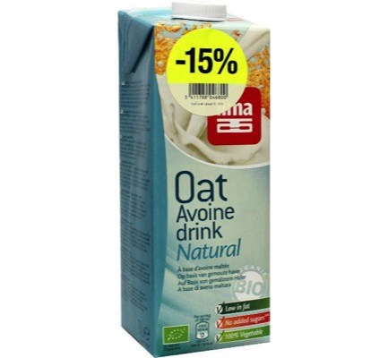 Oat drink natural -15%