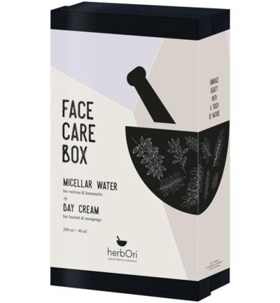 Herbori Face Care Box Dagcreme Micellair Water (Ex)