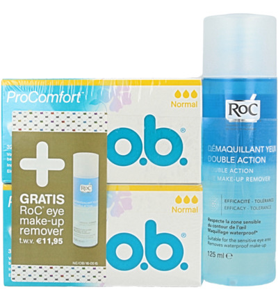 ProComfort normaal + gratis ROC make-up remover