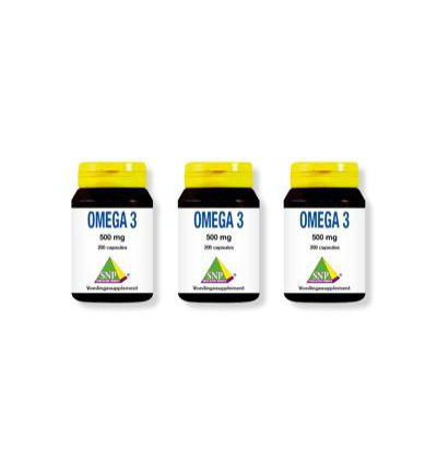 Omega 3 500 mg 2 + 1 actie