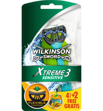Xtreme3 flexible comfort + sensitive 4 + 2