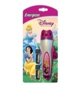 Zaklamp Disney princess met batterijen