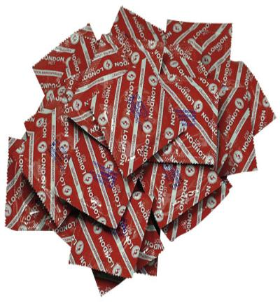Durex London Red - 100 Stuks