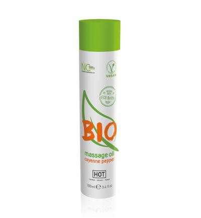 HOT BIO Massageolie Cayenne Peper - 100 ml