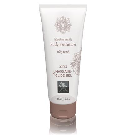 Massage- & Glide Gel 2 in 1 - Silky touch