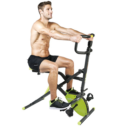 Body Crunch Evol 2-in-1 hometrainer