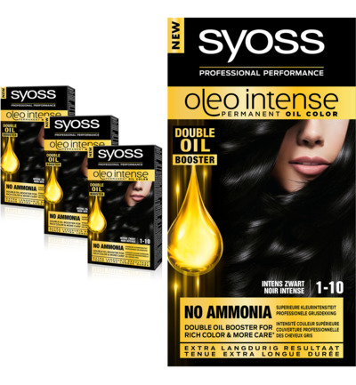 Color Oleo Intense 1-10 zwart haarverf Trio