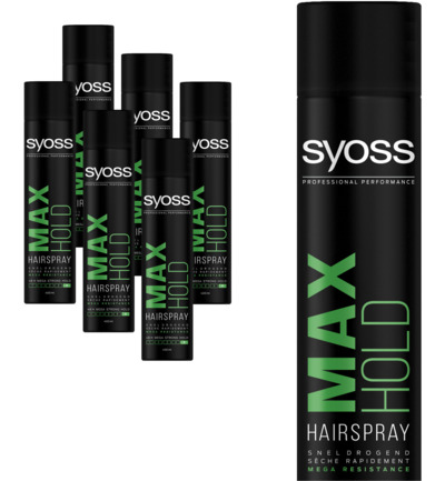 Max Hold Haarspray 6-pack