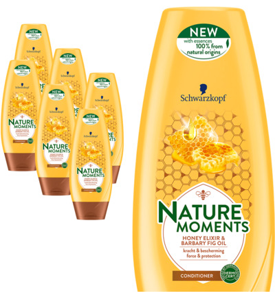 Nature Moments Honey Elixir & Barbary Fig Oil 6 pack
