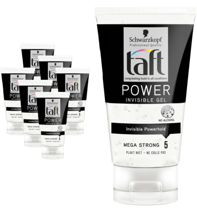 Level 5 Power invisible gel 6 pack
