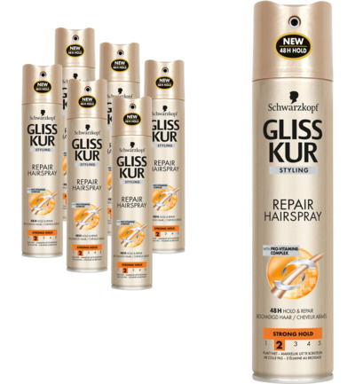 Repair haarspray 6 pack