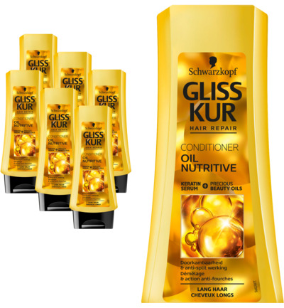 Conditioner Oil nutritive 6 pack