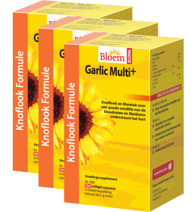 Garlic Multi+ Trio