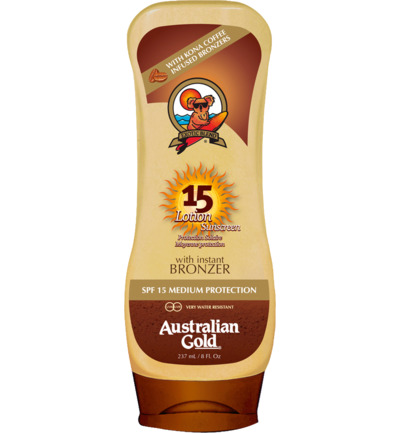 Lotion Sunscreen SPF15 Bronzer