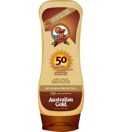 Lotion Sunscreen SPF50 Bronzer