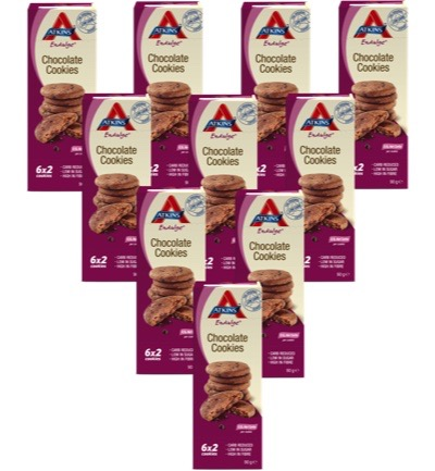 Endulge cookies chocolate chip 10-pack