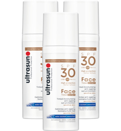 Face tinted SPF30 trio