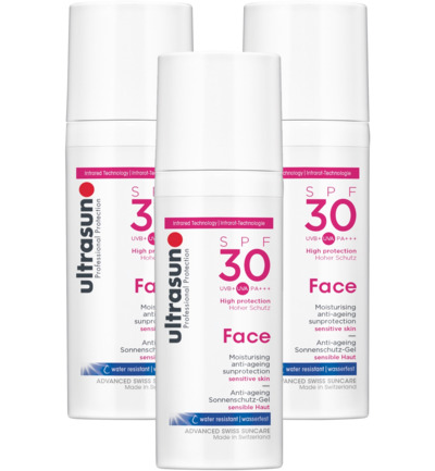 Face protection Creme  SPF 30 trio