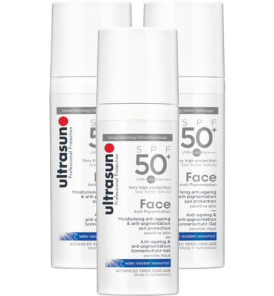 Face anti pigmentatie SPF50+ trio