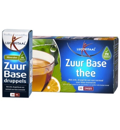 Zuur base druppels+thee Combi (FSO)