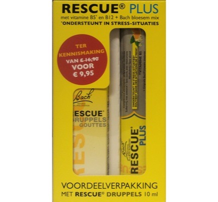 Rescue Druppels + gratis Rescue Plus