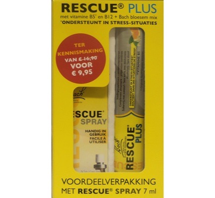 Rescue Spray + gratis Rescue Plus