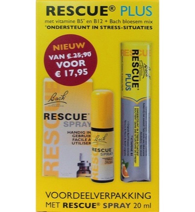 Remedy Plus Bonbon + Rescue Spray
