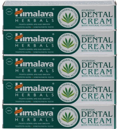 Herbals Ayurveda Dental Cream 5-pack