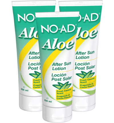 After sun lotion aloe trio