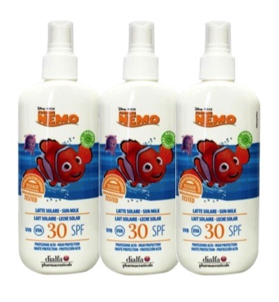 Disney sun protection nemo factor 30 spray trio