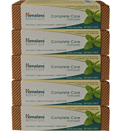 Botanique Complete Care Simply Mint 5-pack