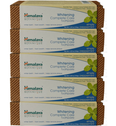 Botanique Whitening Peppermint 5-pack