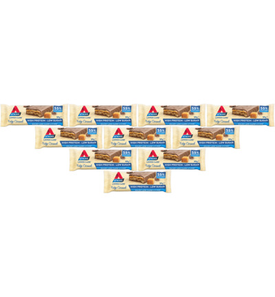 Atkins Fudge Caramel Reep 10 pack (10x60g)