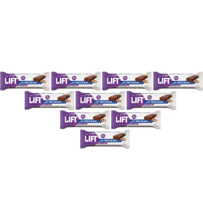 Lift sportreep chocolate almond 10-pack
