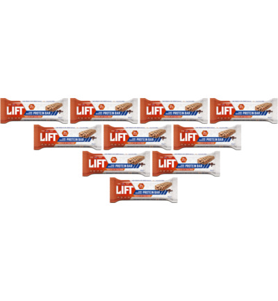 Lift sportreep chocolate chip cookie dough 10-pack
