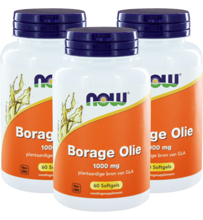 Borage oil 1000mg trio