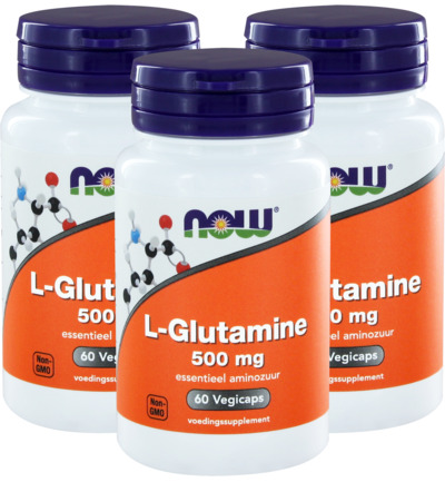 L-Glutamine 500 mg trio