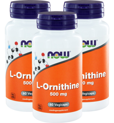 L-Ornithine 500mg trio