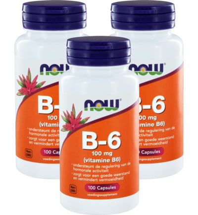 Vitamine B6 100mg trio
