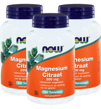 Magnesium citraat 200 mg trio
