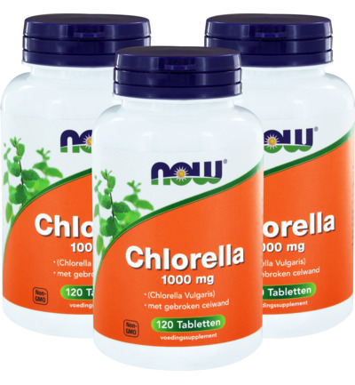 Chlorella 1000mg trio
