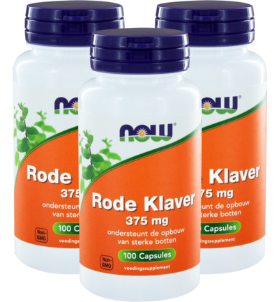 Rode Klaver 375 mg trio