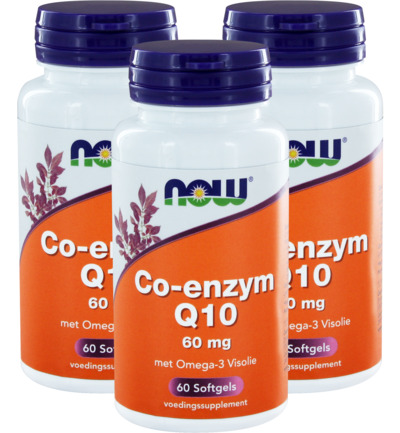 Co Q10 60 mg met omega 3 trio