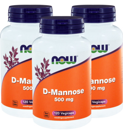 D Mannose 500 mg trio