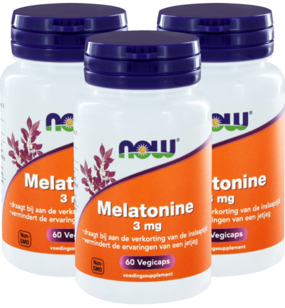 Melatonine 3 mg trio