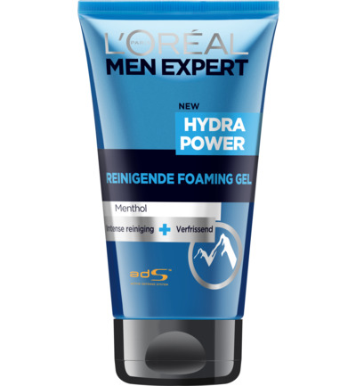 Men Expert Hydra Power reinigende foaming gel menthol