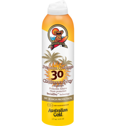 Premium Coverage Continuous Spray Sunscreen SPF30 InvisiDry