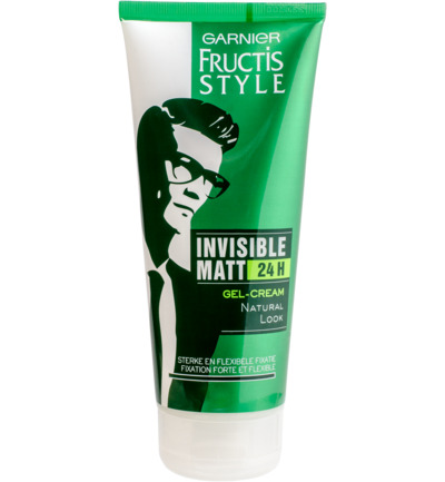Fructis Style Invisible Matt 24H Gel Naturel look