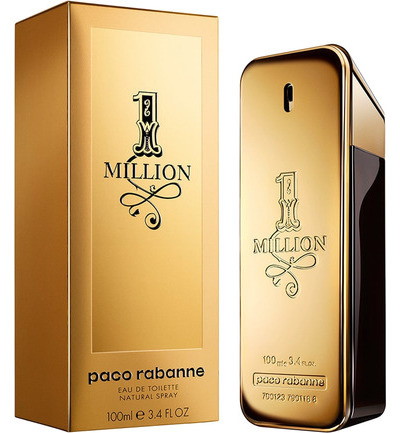 Paco Rabanne One Million Eau De Toilette Man 100ml